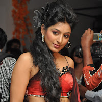 Padmapriya on the ramp