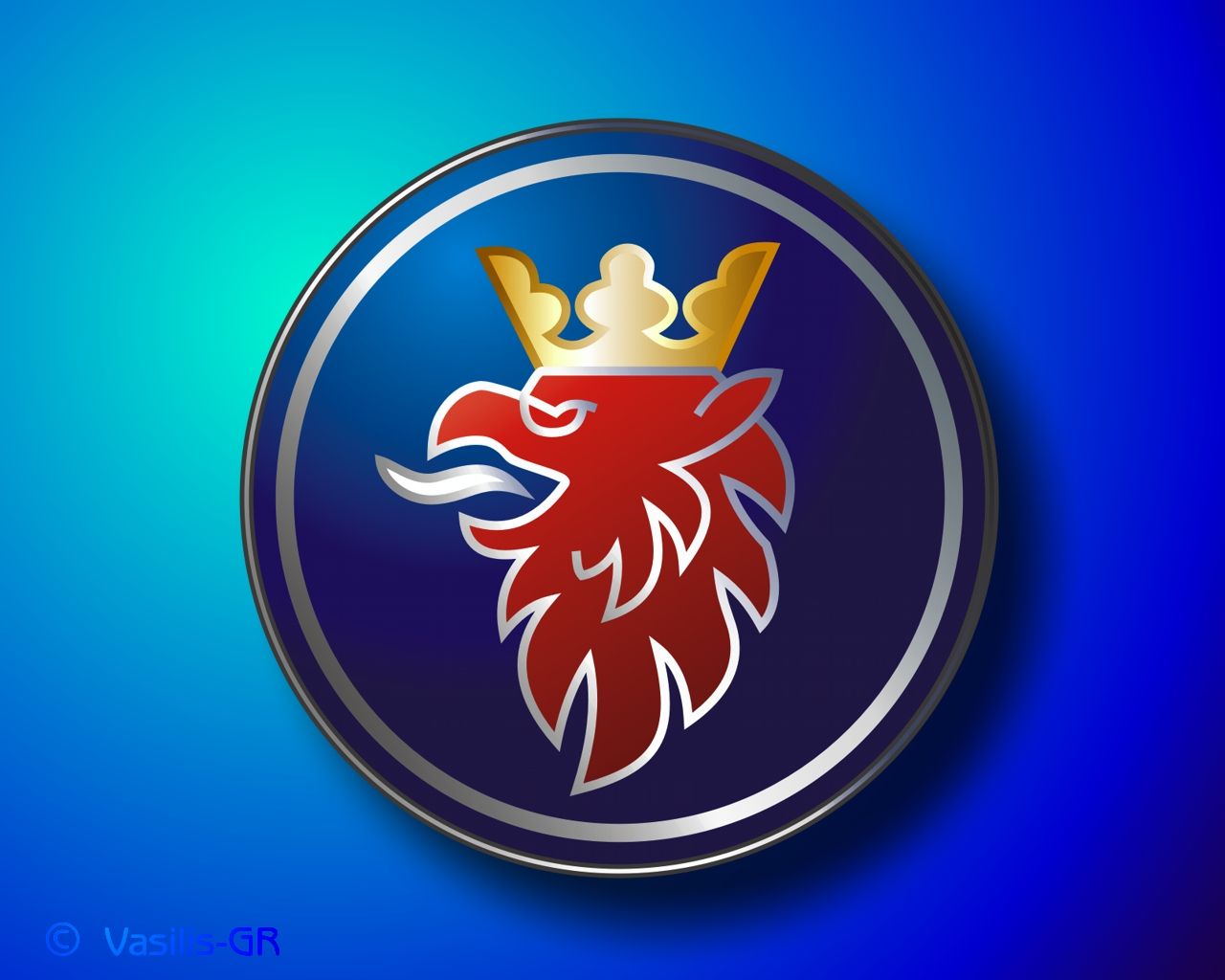 сааб логотип