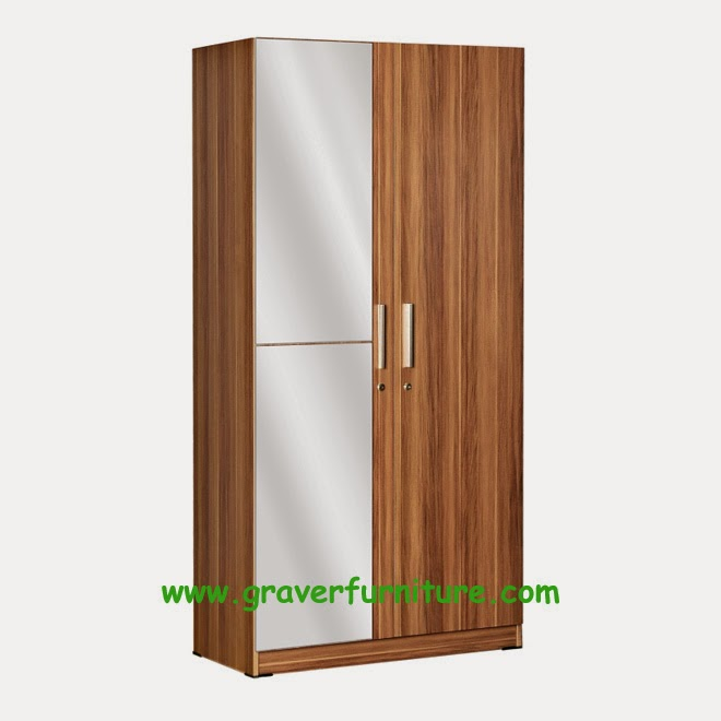 Lemari Pakaian 2 Pintu WD 190 Benefit Furniture