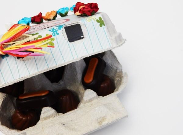 DIY : Boite à oeufs de Pâques