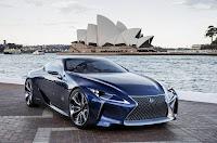 Lexus LF-LC Blue Concept (2012) Front Side 2