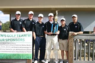Knights Win Season-Opening Golf Tournament 1