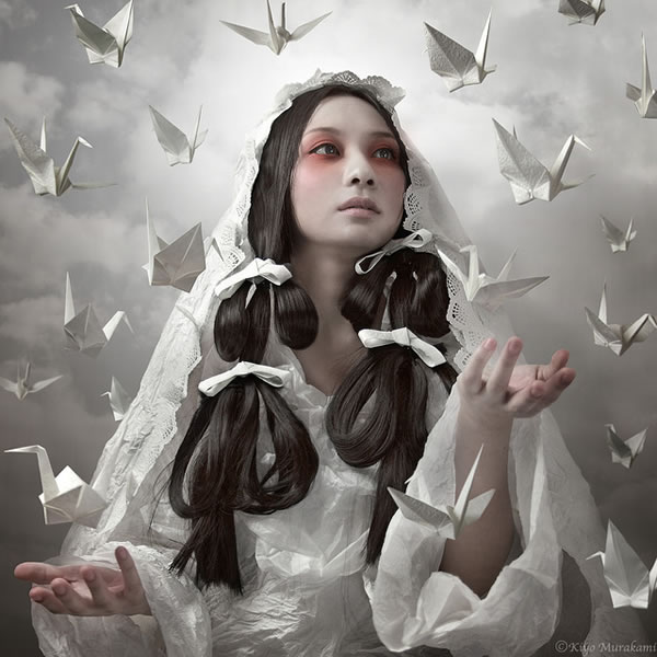 Photo Manipulations of Kiyo Murakami
