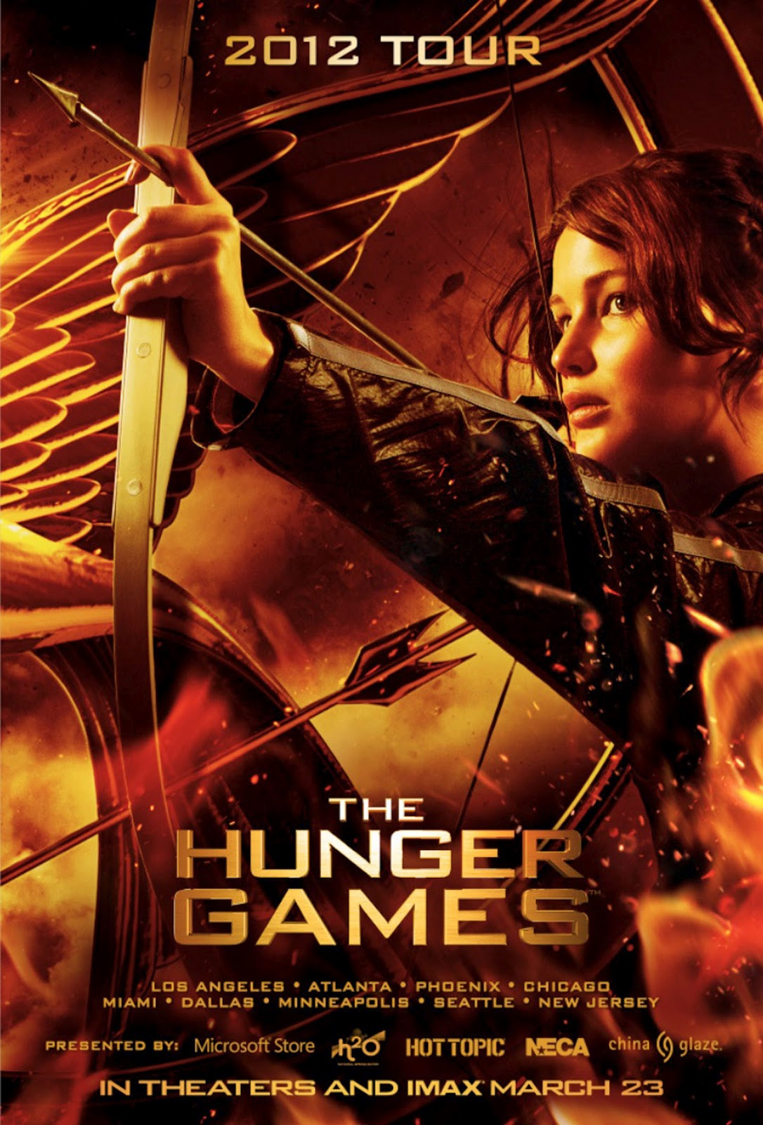 Hunger Games Official Movie Posters/Covers — See Them Here ...
