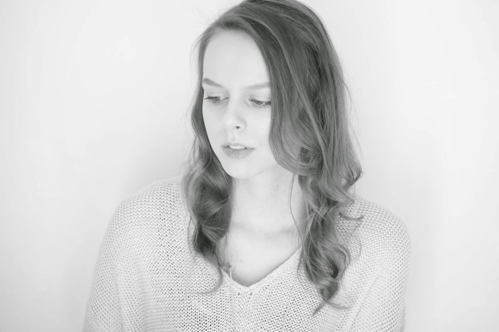 monochrome portretfotografie