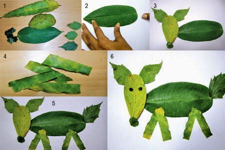 DIY: Leafy Dog