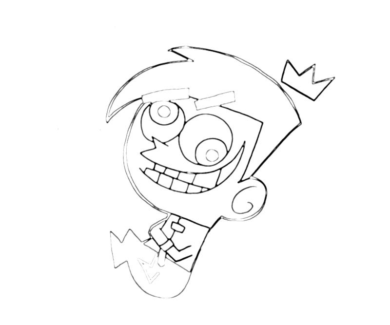 fairly oddparents cosmo character mario