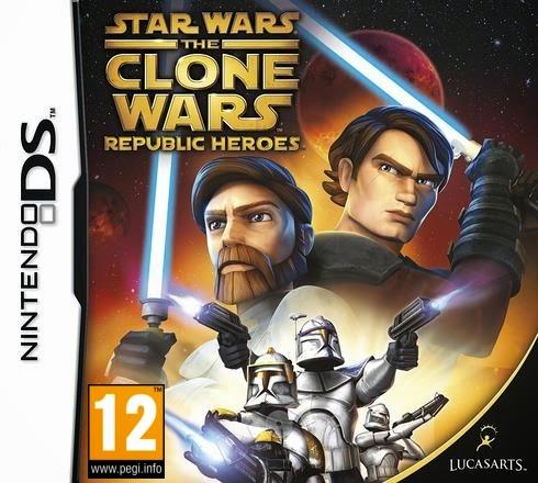 Star Wars The Clone Wars – Republic Heroes (Nintendo DS) (Español)