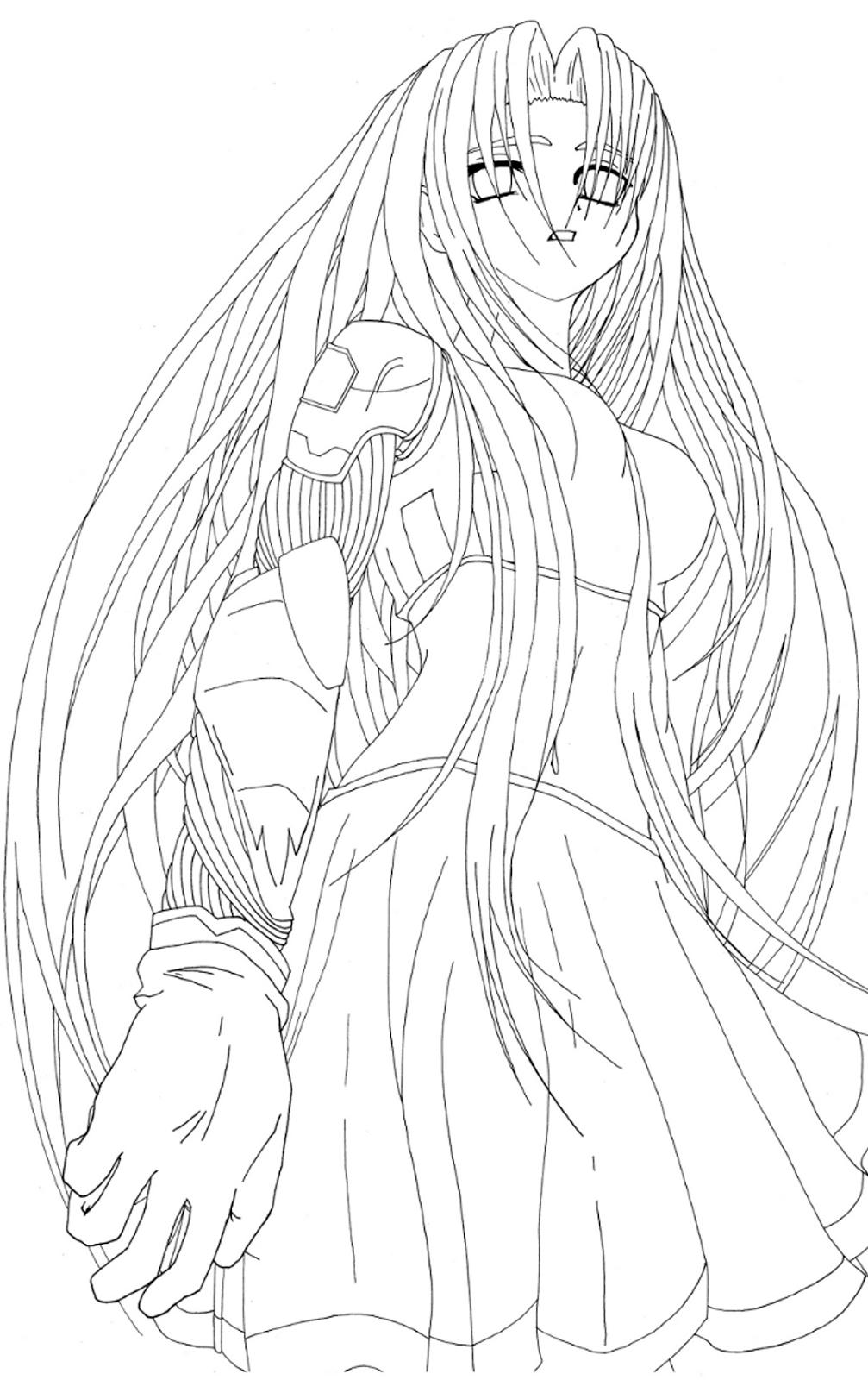 comment dessiner des cheveux manga