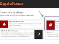 Cara memasang iklan di PPC Digitapromo