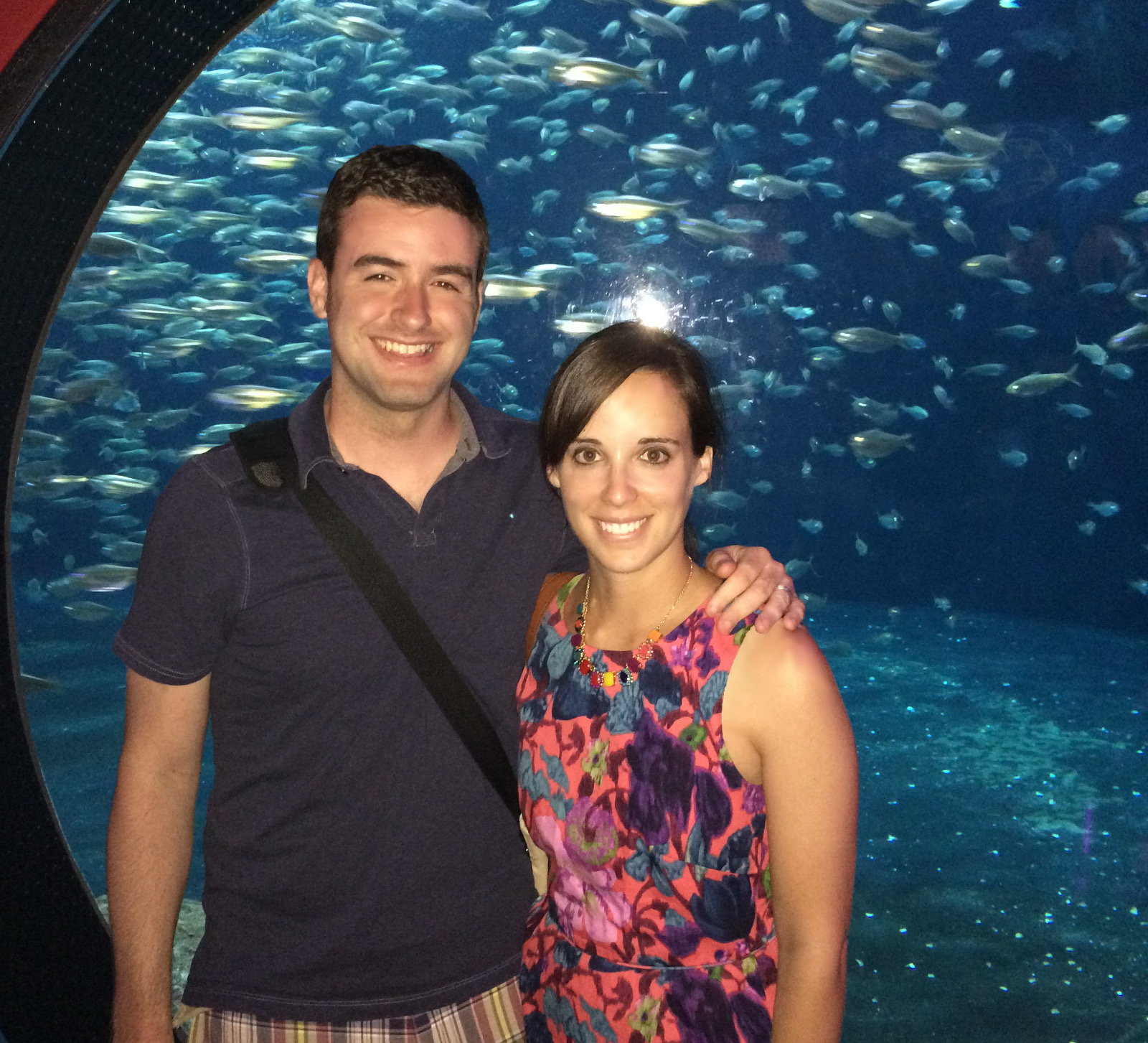 cozy birdhouse | me and dan at the florida aquarium