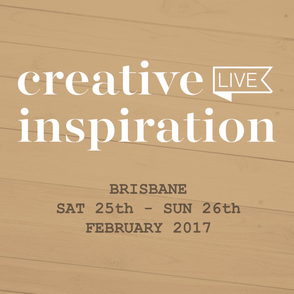Creative Inspiration Live 2017