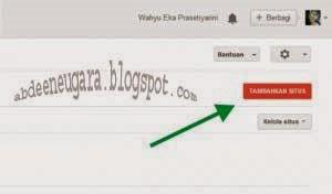 Cara Daftar di Webmaster Tools