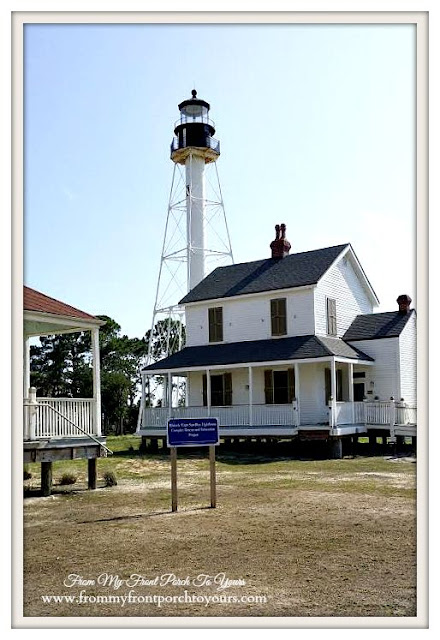Places to visit in Mexico Beach, Fl-farmhouse-Cape San Blas Lighthouse- Port St. Joe, Florida-From My Front Porch To Yours