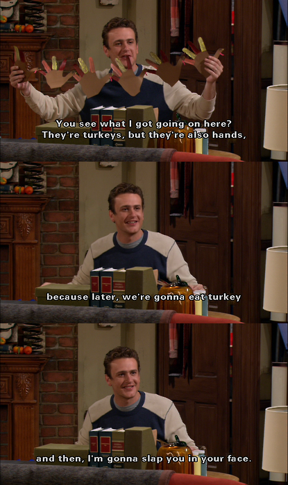 How I Met Your Mother Friends Episode : Gallery for gt marshall eriksen quotes