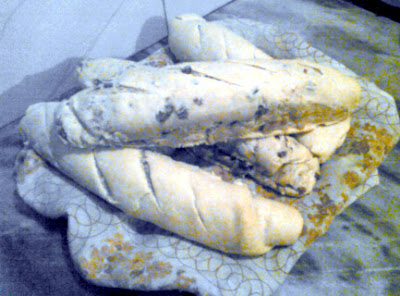 Pan de queso y chicharrones