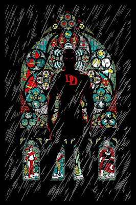 San Diego Comic-Con 2015 Exclusive Marvel Daredevil Poster by Upper Deck