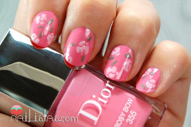 colores de la temporada y el pincel 401 de nail art de Kiko Makeup