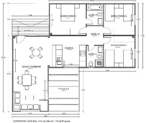 Planos de casas peque as planos de casas en rep blica dominicana for Planos de casas pequenas de una planta