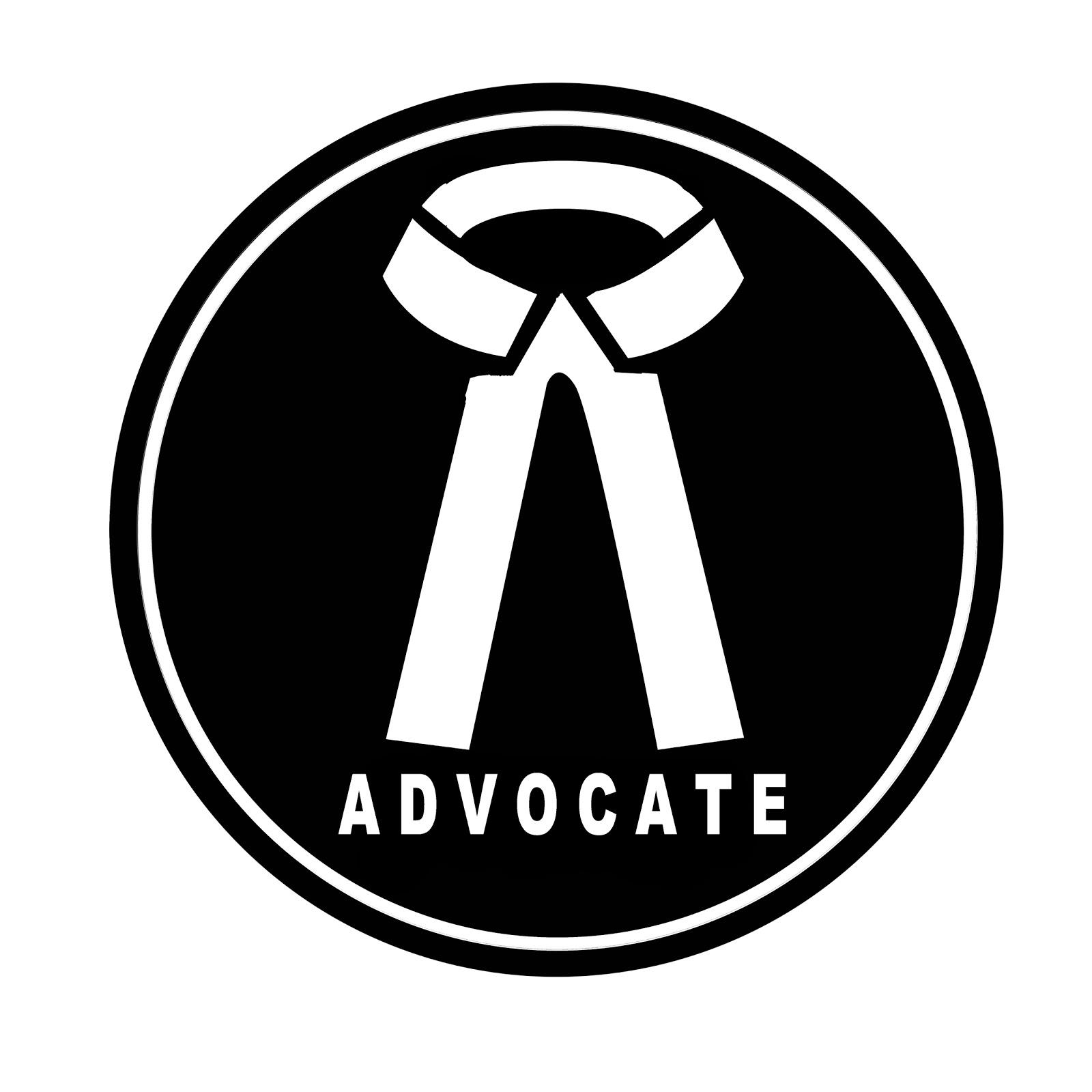 Law Logo   Law symbol   Advocate Logo L L B abbreviationIndian Advocate Logo