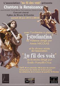 concert à Mours Saint Eusèbe