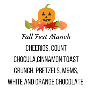 Fall Fest Munch Label back