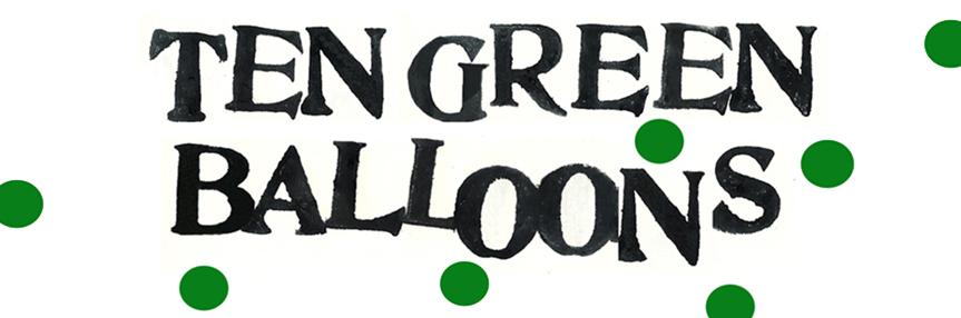 Ten Green Balloons
