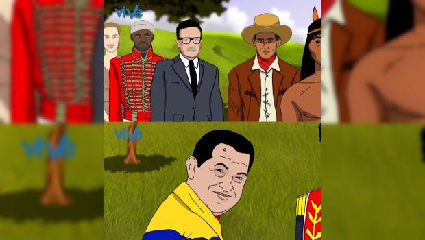 ANIMACIÓN HUGO CHÁVEZ
