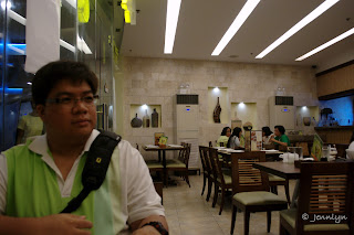 Chikaan restaurant, Central City walk, Bacolod City