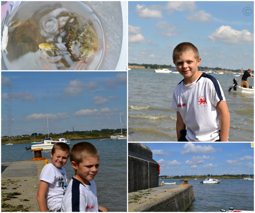 Crabbing @ Ups and downs, smiles and frowns