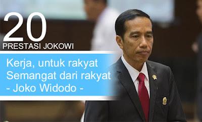 20 Prestasi Mencengangkan Joko Widodo bikin bangga Indonesia