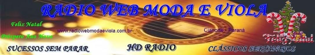 RADIO WEB MODA E VIOLA  - HD RADIO