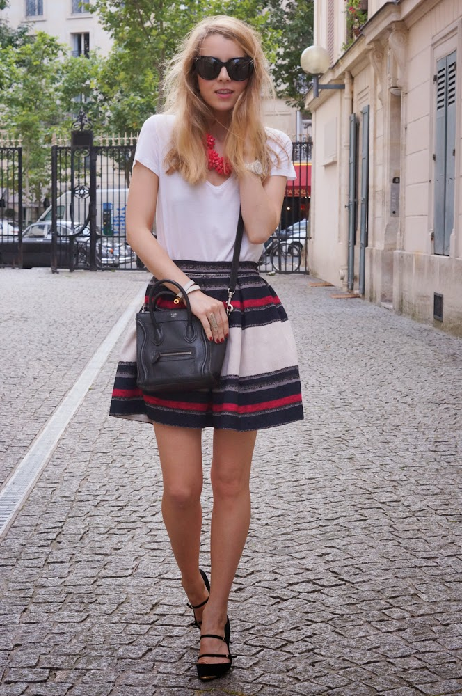 Zara, streetstyle, céline, fashion blogger,chic, parisienne, girly, feminine