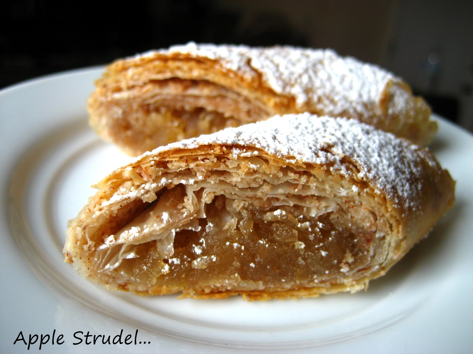 ... Cooking In Montana: Apple Strudel... my new favorite apple dessert