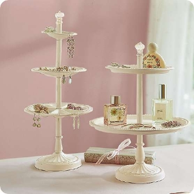 Agape Love Designs Pottery Barn Inspired Tiered Jewelry Holder