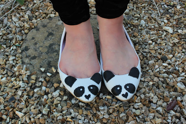 love from hetty and dave panda shoes