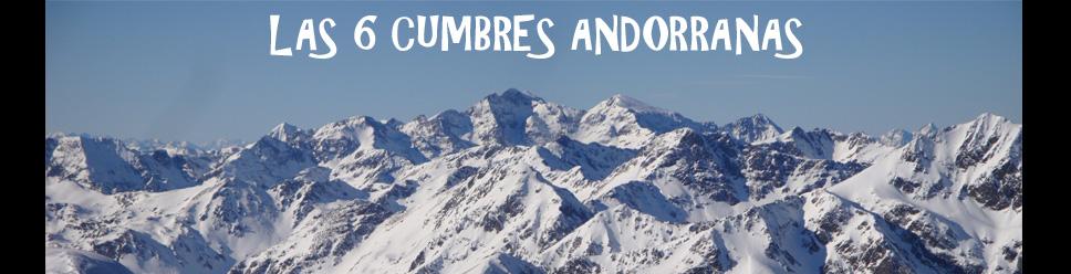 LAS 6 CUMBRES ANDORRANAS