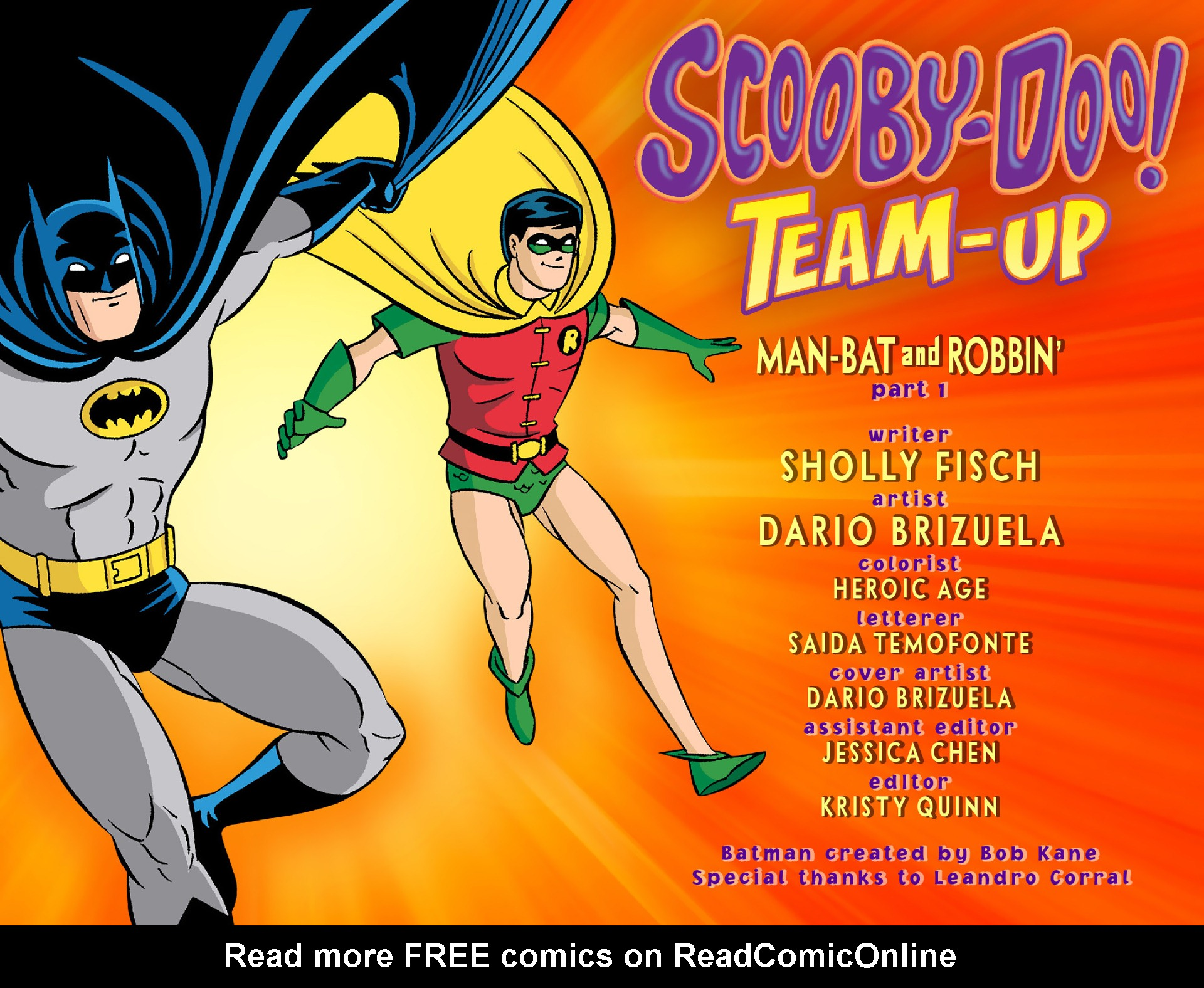 Read online Scooby-Doo! Team-Up comic -  Issue #1 - 2