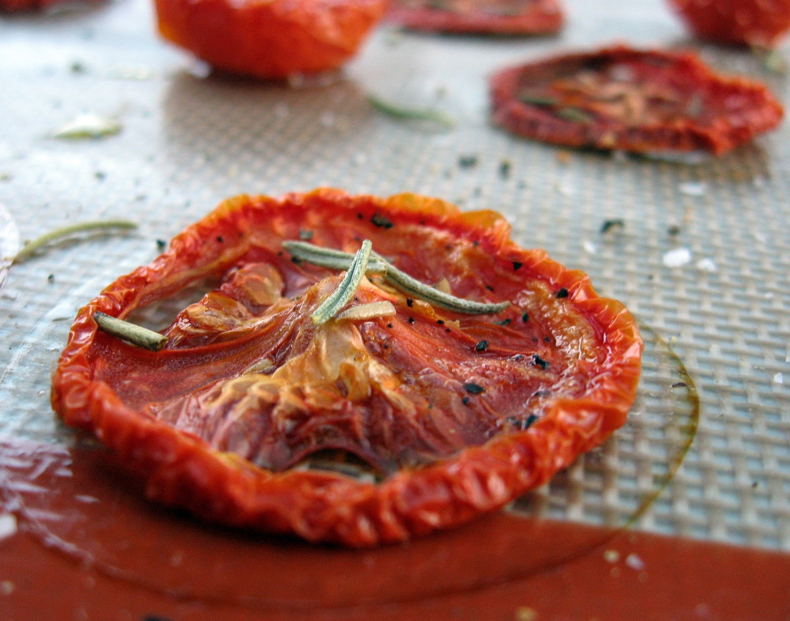 Farm share stories: Slow-Roasted Tomatoes II