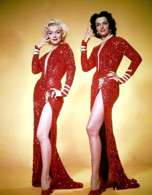 Bedazzled in Red #vintage #red #fashion #1940s #dress #1950s