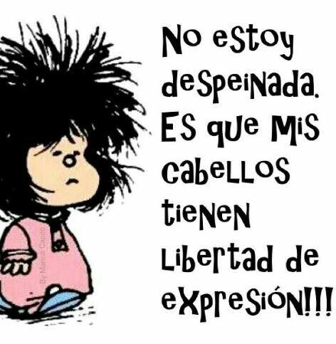 Lo dice Mafalda