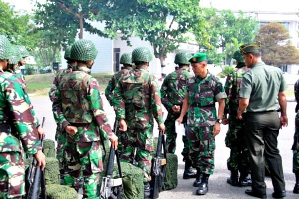 Kodam VI/Mulawarman. PROKIMAL ONLINE Kotabumi Lampung Utara