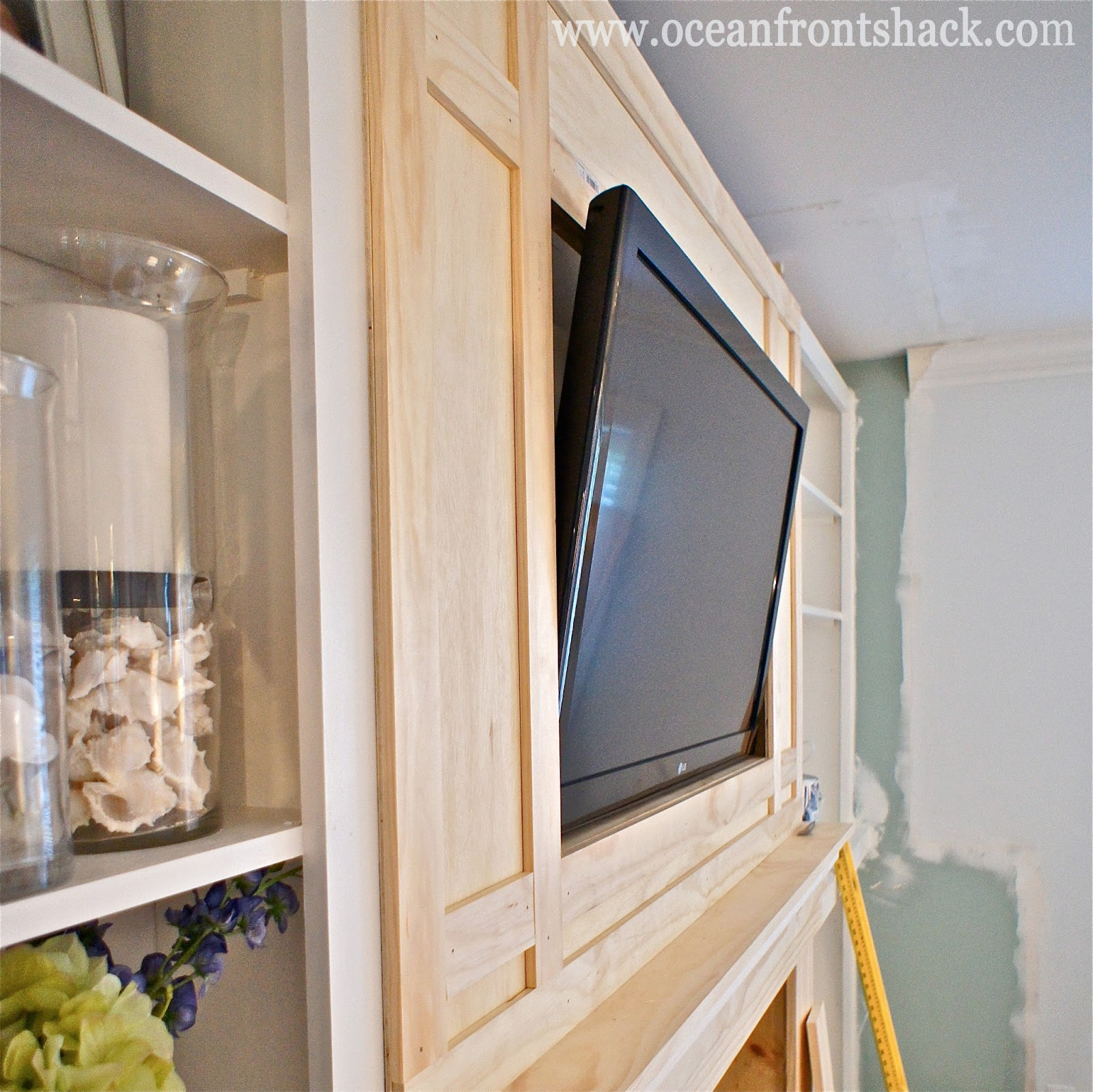 tv cut out above fireplace part 34 framing in our tv over the