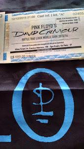 Ingresso Show David Gilmour Brasil