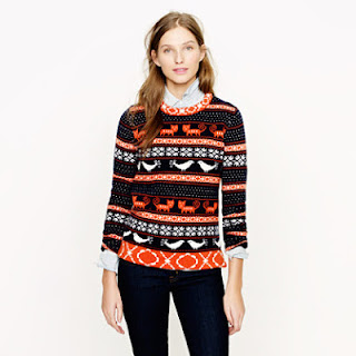 J. Crew Farmyard Fair Isle Sweater