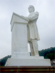 Rev. Cook Statue