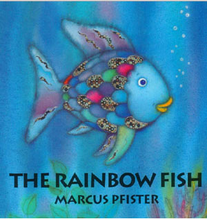 Needles N Knowledge Quot Rainbow Fish Quot Fabric Version Of