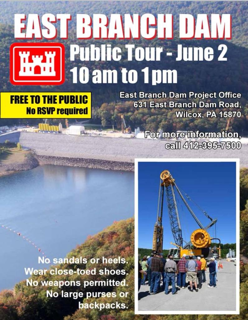 6-2 Public Tour of East Branch Dam