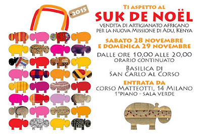 Suk de Noël, Milano 28-29 novembre 2015