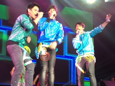 ASAP in Singapore -  ASAP Boyfriendz Daniel, Khalil Ramos and Enrique Gil